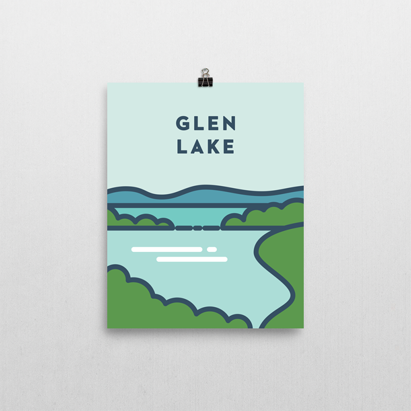 Glen Lake Michigan Print | Northpoint Studio